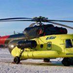 Санавиация Тобольска получила новый вертолёт Ми-8АМТ