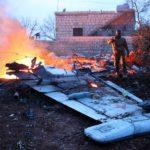 В Сирии сбит штурмовик Су-25 российских ВКС. Пилот погиб.