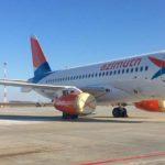 Парк авиакомпании «Азимут» пополнился пятым Суперджетом