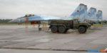 На острове Итуруп заступили на опытно-боевое дежурство Су-35С