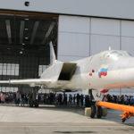 В Казани прошла выкатка модернизированного бомбардировщика Ту-22М3М