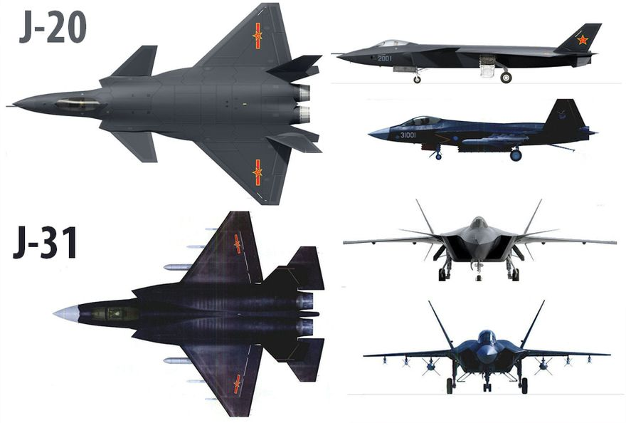 Images of Chinese J 31 Vs F 35 - #rock-cafe