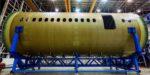 COMAC показал прототип композитного фюзеляжа самолёта CR929