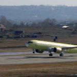 Третий самолёт МС-21-300 выполнил первый полёт (видео)