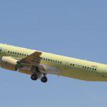Третий МС-21-300 перелетел из Иркутска в Ульяновск на окраску