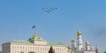 Воздушная часть парада Победы в Москве отменена из-за погоды