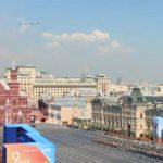 74 вертолёта и самолёта пролетели над Москвой 7 мая 2019 года