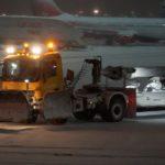 Из-за плохой очистки снега в Ульяновске произошёл инцидент с SSJ100