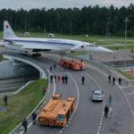 В Жуковском идёт монтаж памятника самолёту Ту-144