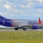 В Домодедово поздравили миллионного пассажира Smartavia
