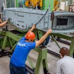 На ВАСО собрали центроплан первого опытного Ил-114-300