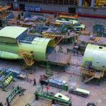 Линия сборки самолётов Ил-76МД-90А запущена в эксплуатацию