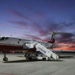 В Платов прибыл самолет-тренажер Ту-134
