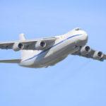 Самолёт Ан-124 доставил в США гуманитарную помощь