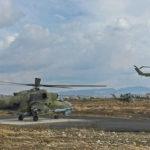На авиабазе Хмеймим в Сирии готовятся укрытия для вертолётов