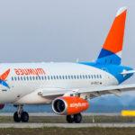 Авиакомпания «Азимут» получила десятый самолёт SSJ100