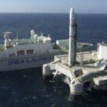 Сборочно-командное судно проекта «Морской старт» направилось в Россию