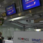 В Пулково поздравили двухмиллионного пассажира Smartavia в 2019 году
