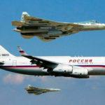 Эскорт Су-57 сопроводил на подлёте к Дамаску самолёт Владимира Путина