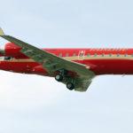 При посадке в Томске у самолёта CRJ-100 частично разрушилась стойка шасси