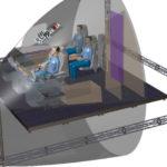 ГСС использует технологии виртуальной реальности и захвата движения при проектировании кабины экипажа