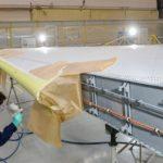 «Авиастар-СП» изготовил киль для пятого опытного самолета МС-21-300