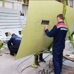 В Ульяновске создан центр специализации «Панели фюзеляжа»