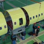 ОАК приступила к стыковке отсеков фюзеляжа второго опытного самолёта Ил-114-300