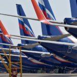 За десять месяцев 2020 года пассажиропоток «Аэрофлота» снизился почти на 60%