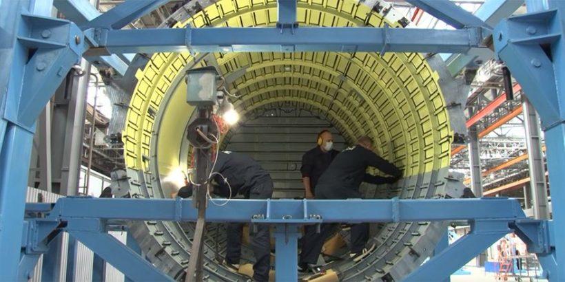 Сборка агрегатов Ил-114-300