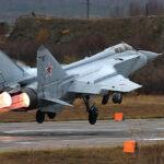 Молодые летчики МиГ-31 выполнили первые полеты в стратосфере