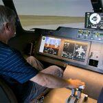 На пилотажном стенде в ЦАГИ отработаны сложные полётные ситуации самолёта МС-21