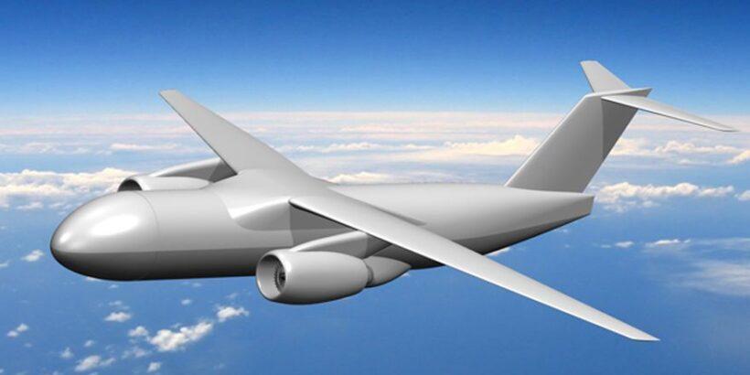 легкий скоростной транспортный самолет ЦАГИ