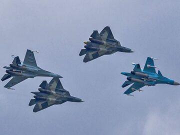 Су-57 Су-35 Су-34