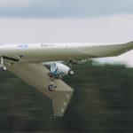 Модель V-образного самолёта выполнила первый полёт