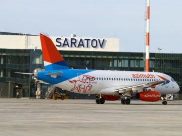 SSJ100 Азимут Гагарин Саратов