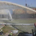 В Домодедово прошли учения экстренных служб при разливе авиатоплива