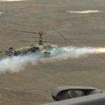 На Кубани лётчики Ка-52 впервые применили ракеты «Вихрь-1»