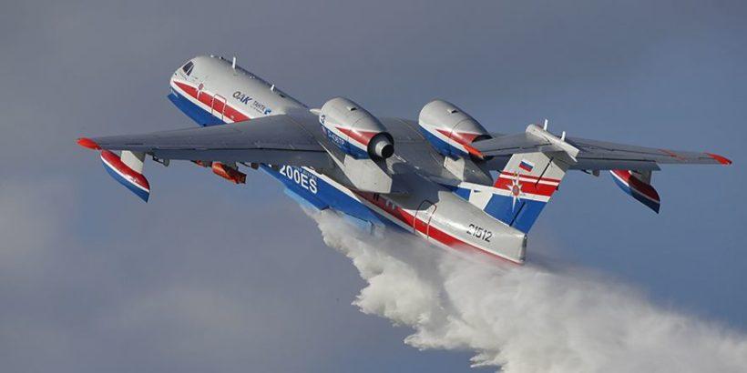 В России будет создана пожарная спецэскадрилья из 22 самолётов и вертолётов
