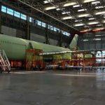 Опубликованы фотографии Ил-96-400М из цеха окончательной сборки ВАСО