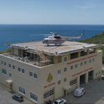 В Крыму построили пожарно-спасательную станцию с вертолетной площадкой