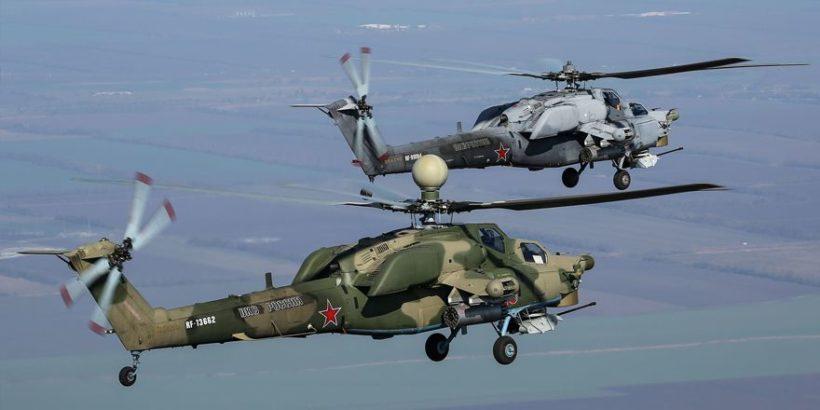 Ударный вертолёт Ми-28НМ «Ночной охотник», в НАТО его называют  «Опустошитель» » Авиация России