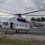 Вертолёты Ми-8АМТ приступили к тушению лесных пожаров на острове Калимантан