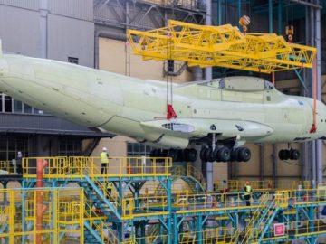 Бесстапельная сборка Ил-76МД-90А