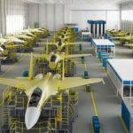 Под серийную сборку Су-57 на КнААЗ выполнено техническое перевооружение производства