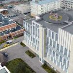 На кровле нового корпуса Боткинской больницы построят вертолетную площадку