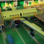 Состыкованы крыло и горизонтальное оперение с фюзеляжем второго опытного Ил-114-300