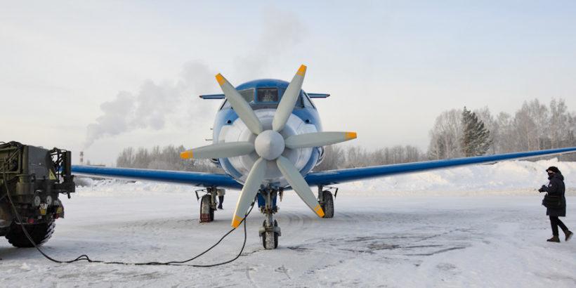 Як-40лл испытания гибридного двигателя