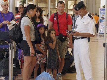 досмотр в аэропорту египет хургада