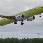Опытный самолёт МС-21-310 прибыл в Ульяновск для покраски
